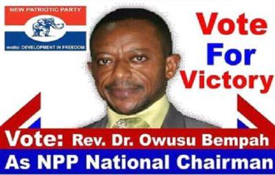 Owusu Bempah curses makers of NPP poster