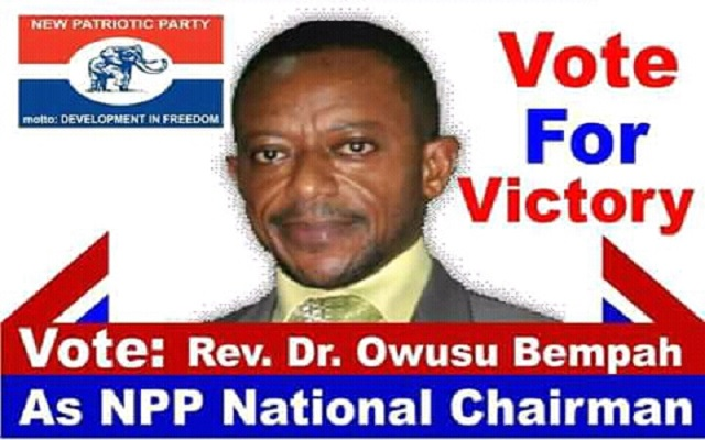 Owusu Bempah curses makers of NPP poster