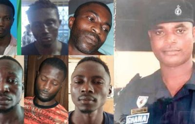 7 Kwabenya Police station escapees named