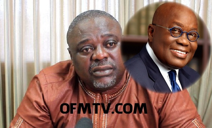 Deputy General Secretary of the NDC, Koku Anyidoho And President Akufo-Addo