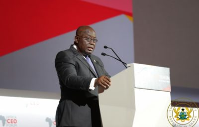President Nana Akufo-Addo Speaking at the 6th Africa CEO Forum