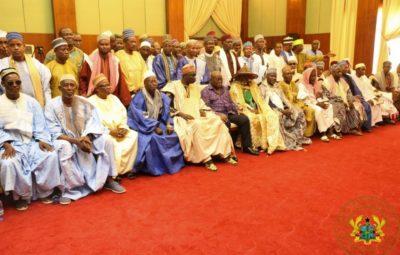Fulani herdsmen with President Nana Addo Dankwa Akufo-Addo