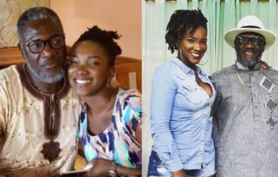 The Late Ebony Reigns and her Father