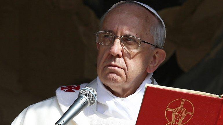 Pope Francis, born Jorge Mario Bergoglio