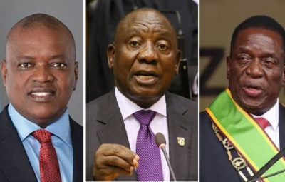 Changing presidents without elections in Zimbabwe, South Africa and Botswana