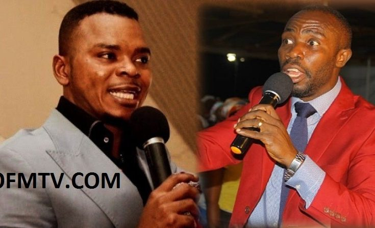 Bishop Angel Daniel Obinim (Left) And Prophet Kofi Amponsah (Right)