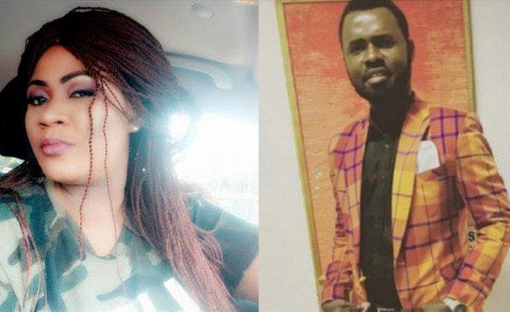 Gladys Mensah Boaku, alias Nayas (Left) And Gospel Musician Ernest Opoku (Right)