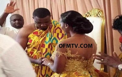 Actor John Dumelo married to Gifty Mawunya