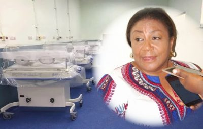 KATH Maternity and First Lady Rebecca Akufo-Addo