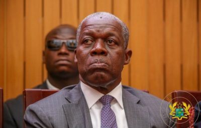 Former Vice President Kwesi Amissah-Arthur