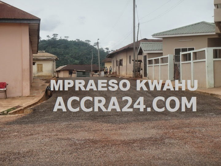 Mpraeso-Kwahu Town Chief Palace