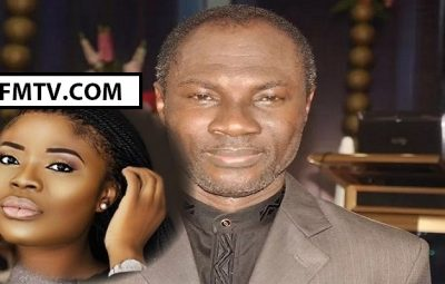 Deloris Frimpong Manso (Left) interviews Prophet Emmanuel Badu Kobi on the Delay Show