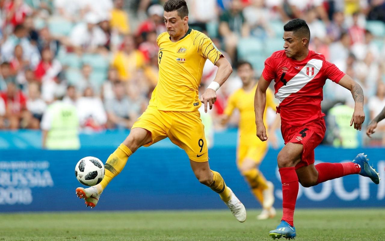 Australia vs Peru at FIFA World Cup 2018