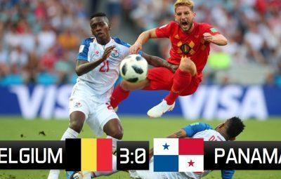 FIFA World Cup 2018: Belgium beat Panama 3-0