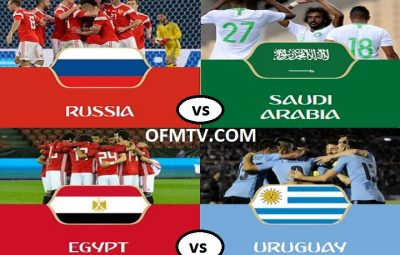 FIFA World Cup Russia 2018 Group A