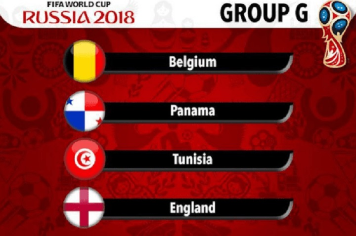 2018 FIFA World Cup Russia™ Group G
