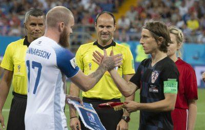 Iceland vs Croatia [1:2] - 2018 FIFA World Cup Russia