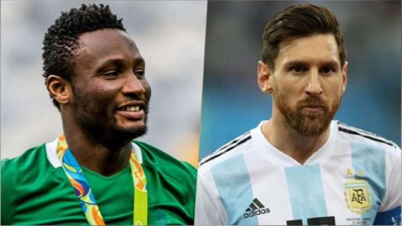 Nigeria vs Argentina [1:2] - Marcos Rojo saves Argentina