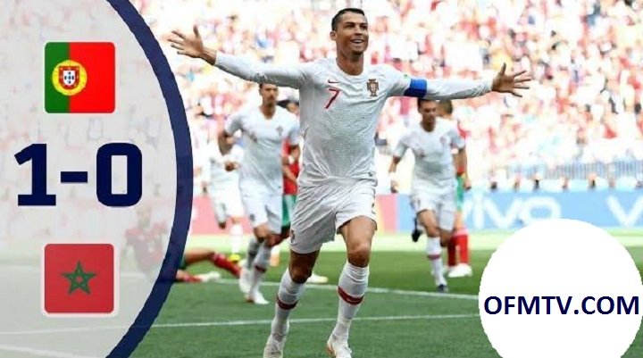 Cristiano Ronaldo goal saves lucky Portugal to send Morocco out of World Cup