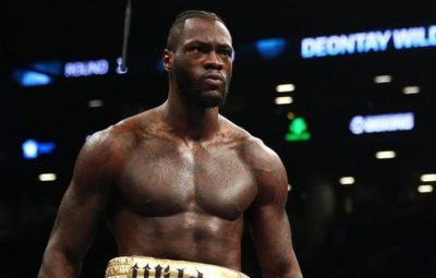 Wilder is unbeaten in 40 professional fights, with 39 knockouts