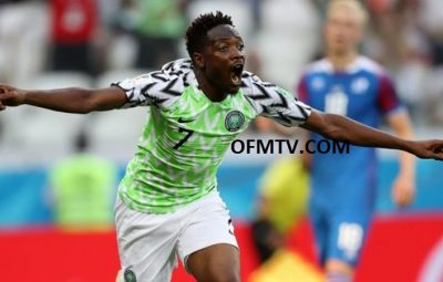 Ahmed Musa fires Nigeria into lead.