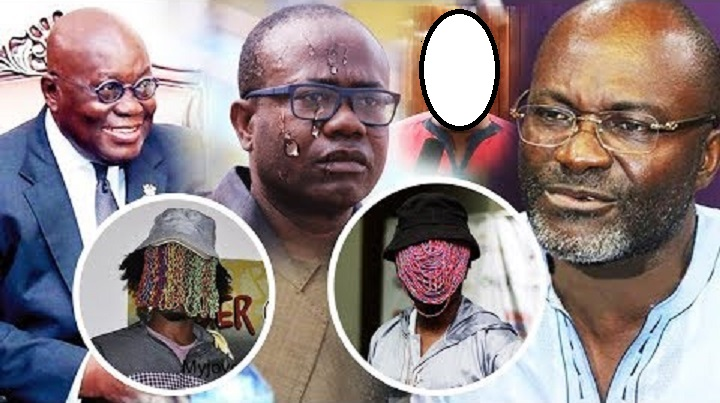President Akufo-Addo, Anas Aremeyaw Anas, Kwesi Nyantakyi And Kennedy Agyapong