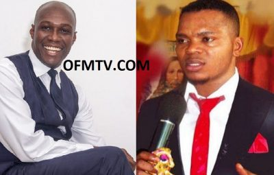 Prophet Dr. Kofi Oduro (Left) And Bishop Angel Daniel Obinim (Right)