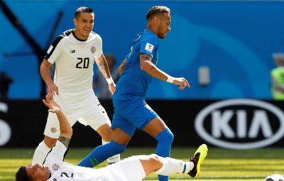 Brazil vs Costa Rica [2:0] All Goals - FIFIA World Cup 2018, Neymar and Philippe Coutinho score.