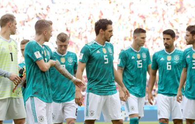 Germany's national team have already left their FIFA World Cup 2018