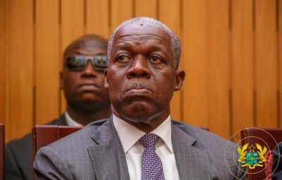 Former Ghana Vice President, Kwesi Amissah-Arthur