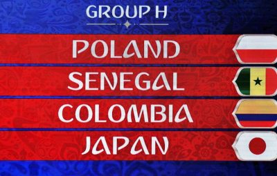 2018 FIFA World Cup Russia™ Group H Matches.