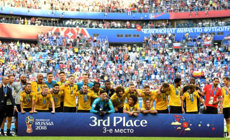 Belgium third in 2018 Russia FIFA World Cup