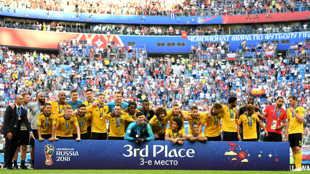 Belgium third in 2018 Russia FIFA World Cup