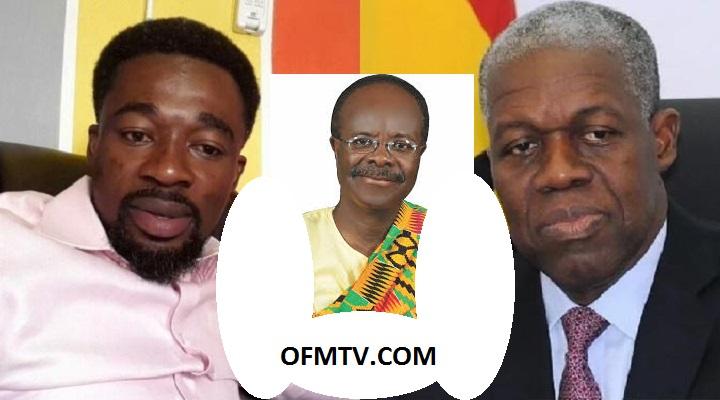 [L-R] Prophet Reindolph Oduro Gyebi (Eagle Prophet), Ex-President Kwesi Amissah-Arthur And Dr. Paa Kwesi Nduom
