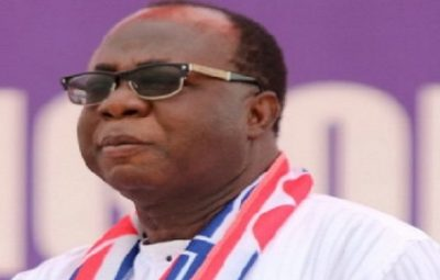 Mr. Freddie Blay, lawyer and businessman and new NPP National Chairman