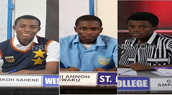 Ghana National Science & Maths Quiz [NSMQ] 2018 Closing Ceremong and Final Contest: ADISADEL COLLEGE vs ST. PETER'S SHS vs WEST AFRICA SHS