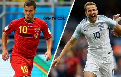 Belgium vs England - FIFA World Cup 2018 third place play-off