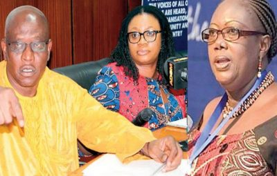 President Akufo-Addo Sacks EC Chair Person-Charlotte Osei and Her Two Deputies