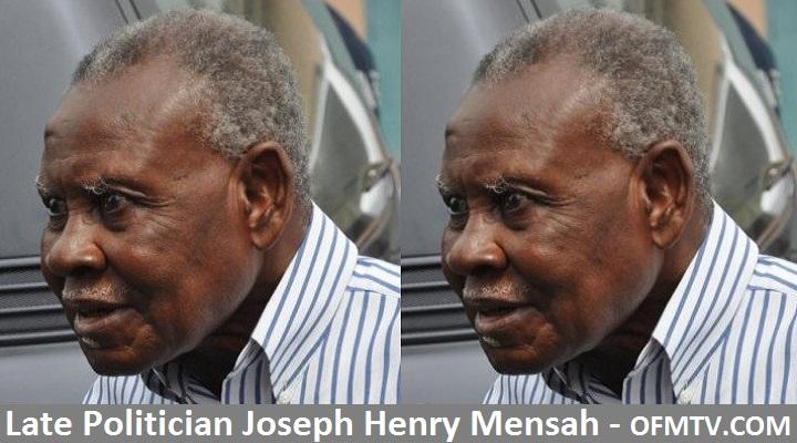 Late Ghanaian Politician J.H. Mensah - OFMTV.COM