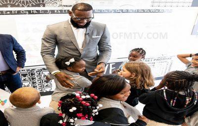 LeBron James opens new public school in Akron