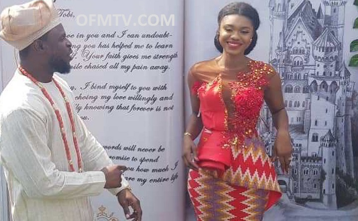 Ghanaian Songster, Songstress Becca is married