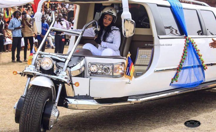 Apostle Safo's Odeneho V6 Motorbik