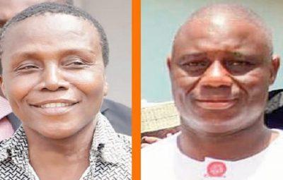 Gregory Afoko and the late Adams Mahama