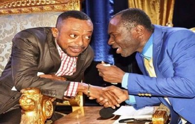 Prophet Isaac Owusu Bempah (Left) and Prophet Emmanuel Badu Kobi (Right)