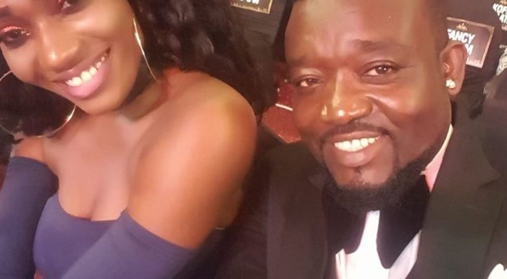 Wendy Shay and her manager Bullet