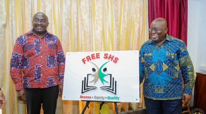 President Akufo-Addo (Right) and Veep Dr. Bawumia (Left)