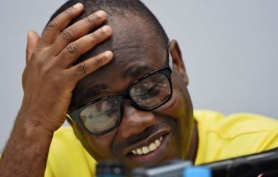 Former CAF first vice president, Mr. Kwesi Nyantakyi