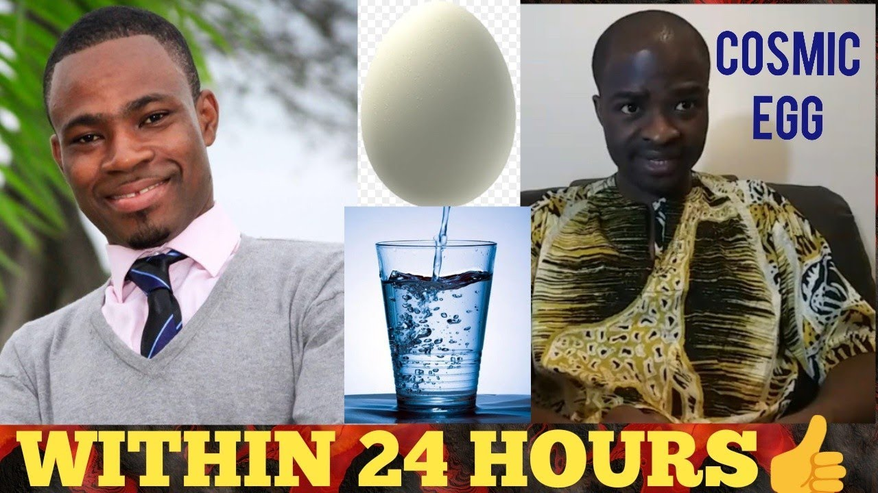 Evangelist Addai causes problems for Adom FM's Kofi Adomah Nwanwani in egg & water challenge [Watch Video With Comments]