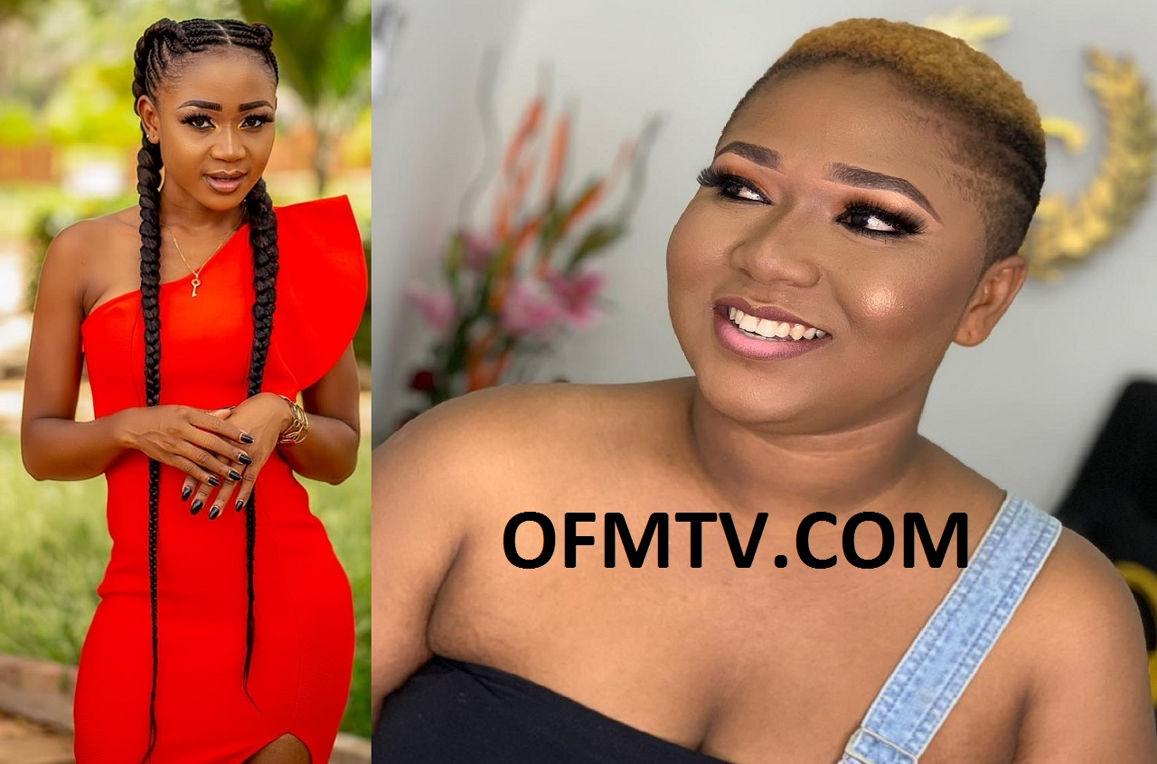 Actress Rosemond Alade Brown, aka Akuapem Poloo And Actress Xandy Kamel