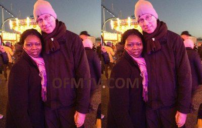 Late Juliet Osei aka Nana and her German ex-husband Marc